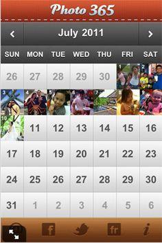 iPhone app, Photo 365.