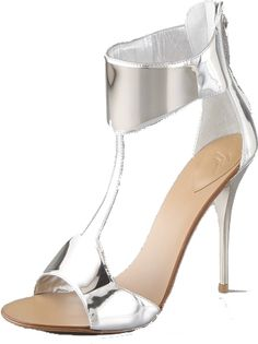Giuseppe Zanootti Mirror Cuff Sandals. These shoes will stop traffic.