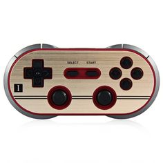 55.00$  Watch now - http://ali3gc.worldwells.pw/go.php?t=32725297384 - 2016 new 8 bitdo eight FC30 PRO wireless bluetooth game controller for iOS android TV MAC computer 55.00$