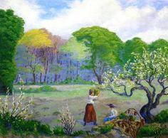 Picking Flowers - Paul Ranson - The Athenaeum