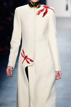 Bibhu Mohapatra | New York Fashion Week | Fall 2016 Abaya Fashion, Fashion Dresses, Iranian Women Fashion, Womens Fashion, Indian Designer Suits, Abaya Designs, Royal Dresses, Couture Details, Embroidered Clothes