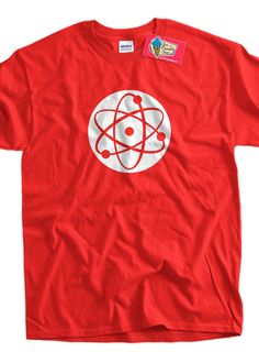 Cool Geek TShirt Atom TShirt Science TShirt Gifts by IceCreamTees, $14.99