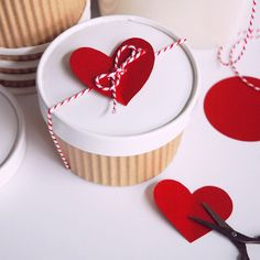 Gift sweet treats for Valentine's Day in this adorable box.