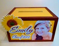 Simple, sweet and to the point. It's about pretty Emily. Here's her gift card money box. One of my all time favorites. #graduation #gift card box