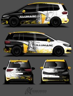 RA graphics Van Wrap design