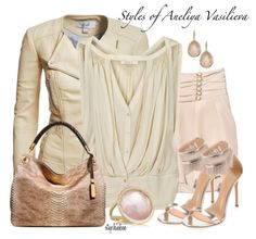 A fashion look from January 2014 featuring Vanessa Bruno blouses, Gianvito Rossi sandals and Michael Kors tote bags. Browse and shop related looks. Love Fashion, Spring Fashion, Womens Fashion, Fasion, Fashion Outfits, Photoshoot Fashion, 2014 Fashion Trends, Fashion Ideas, Business Fashion