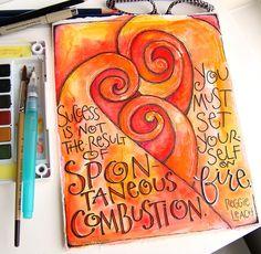 Artist and Calligrapher  Lori Vliegen