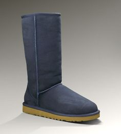 UggWomens Classic Tall Navy - UGGs Outlet With Elegant Design, Free Shipping, Free Tax, Door to door delivery