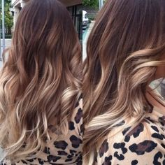 ombre balayage brown to beige blonde to ash blonde | balayage hair and ombre difference Balyaj saç modelleri ve saç ...