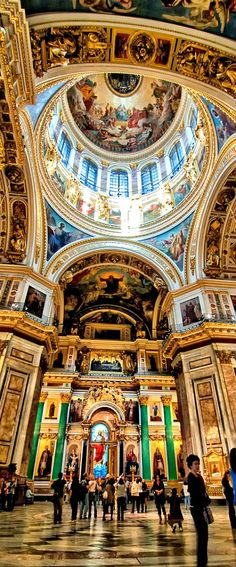 Saint Isaak's Cathedral ~ St. Petersburg, Russia #patraselections #travel #list