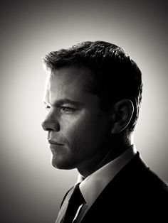 Matt Damon | by Michael Muller