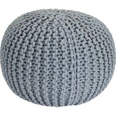 Buy Heart of House Cotton Knitted Pod - Duck Egg at Argos.co.uk, visit Argos.co.uk to shop online for Footstools
