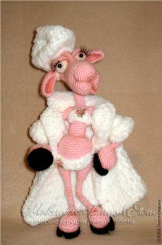Игрушки животные, ручной работы. Ярмарка Мастеров - ручная работа овечка Клаудия. Handmade.