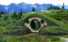 Hobbit hole from WoodenWonders