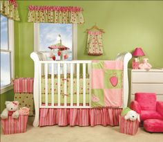 This could be a cute start for a strawberry shortcake theme