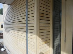 Accoya® wood helps create inspirational and cutting edge design for American School, Hague, The Netherlands. | Accoya