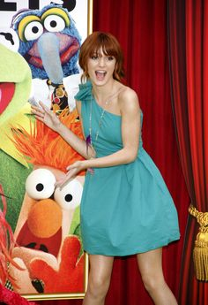 bella thorne the muppets movie premiere | World Premiere of The Muppets in LA
