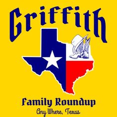 TexStyle 758: Texas family roundup. Grab your boots and your hat. Let's go! #reuniontees #ctp365 #reuniontshirts #familyreuniontshirts