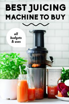 Your full guide to the best juicers on the market in Find the best overall juicer to buy, the best cheap juicer for beginners & lots more tips. Best Juicer, Citrus Juicer, Healthy Lifestyle Tips, Healthy Eating Tips, Healthy Drinks, Vegan Nutrition, Nutrition Tips, Small Juicer