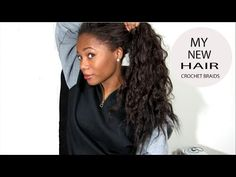 New Hair: Crochet Braids with FreeTress Hair - YouTube