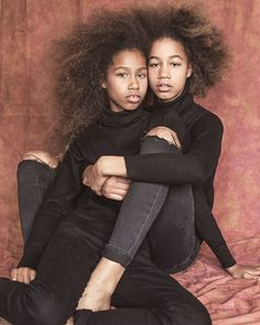 "Twinning  "" Same Difference Anin + Meena © Nadine Ijewere Start of my siblings project in LONDON , looking at the differences and similarities between siblings Always looking for new..."