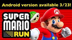 Super Mario Run Android release date announced Read more Technology News Here --> http://digitaltechnologynews.com Update: The Super Mario Run Android release date has been confirmed for Thursday March 23 according to an official Nintendo announcement.  You can pre-register for a notification via the Google Play Store however we found that alert to be late when the game made its iOS debut in December.  It's best to just check back here on March 23 because we'll post news about the Super…