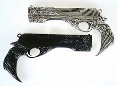 2PCS New Collection Devil May Cry5 DmC Dante's Guns Model Resin Cosplay Prop