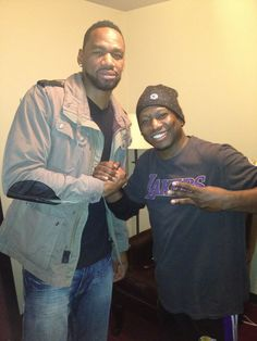 NBA Star & Indiana Pacer SAM YOUNG shows love by always attending my shows in Indianapolis at CRACKERS COMEDY CLUB in BROAD RIPPLE.  2013