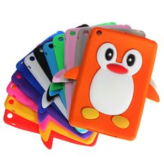Protect your cell phone with this stylish silicone skin case -- iPad pro iPad iPad Pro Soft Funny Cute Silicone Soft Case for Apple iPad Mini 4 3 2 !Prevents scratches, chips and fingerprints from accumulating on your phone. Ipad Mini Cases, Ipad Mini 3, Ipad Case, Cool Phone Cases, Iphone Phone Cases, Funny Cute Cats, Cute Penguins, Apple Ipad, Ipad Pro