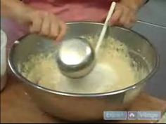 ▶ PT 2:   How to Bake a Traditional Challah Bread : Mix Flour By Hand when Making Challah Bread - YouTube