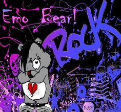 picture of punk care bears | Emo Care Bear Graphics Code | Emo Care Bear Comments & Pictures