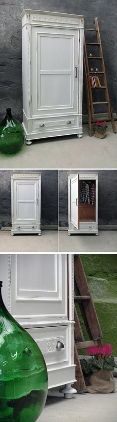 armadio della nonna: il vecchio armadio della nonna diventa l'armadio della giovane mamma.