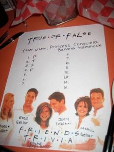 "You attend Friends trivia nights, and get creative with your team name. | Community Post: 22 Signs You're Still Addicted To ""Friends"""