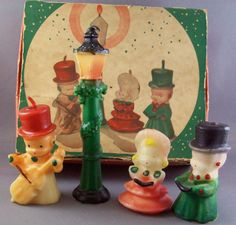 Gurley candle carolers with original box.