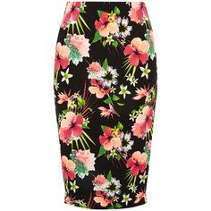 Delcoce Retro Floral Skirt Classy Women Pleated Skirts With Pockets White Xl Soft And Antislippery Women's Clothing
