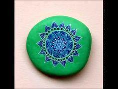 Mandala Stones: How to Paint Mandalas on Stones Part 2 - http://go.shr.lc/1R08x0R