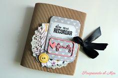 "Mini álbum ""Family"" colección Bella Rouge de Pink Paislee"