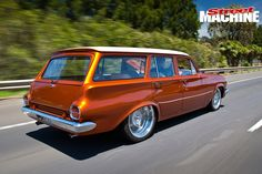 After falling in love with the Holden Monaro as a kid, Jamie McKay finally has his own – and it's a stunning Chev-powered street cruiser Australian Muscle Cars, Aussie Muscle Cars, Holden Wagon, Thor Costume, Pick Up 4x4, Holden Australia, Pride And Glory, Shooting Brake, Classic Hot Rod
