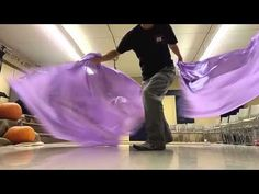 Worship Flagging Dance (David practicing) CALLED TO FLAG banners ft David - YouTube