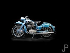 1953 NSU MAX 250cc motorcycle made in Germany | James Pratt Photography