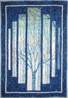 Robert Kaufman Sounds Of The Woods Wall Hanging Stunning