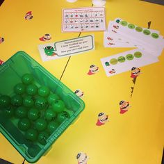 Today's writing activity! The evil pea has muddled up our sentences!! The children used the 'evil peas' to put the HFW and the tricky words…