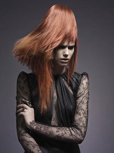 """HEAT"" Stylist Charlotte Mielko, Hair/Makeup Nina Larsen and Photographer Sidsel Clement"