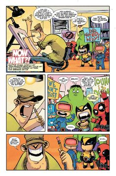 Marvel What Now? Page 1- Skottie Young