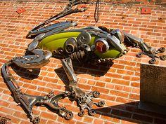Frog Sculpture at Alliance Metals