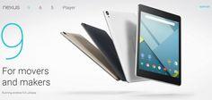 Nexus 9 está llamada a competir contra los nuevos iPad, Windows Surface y las tablets de la gama Xperia.