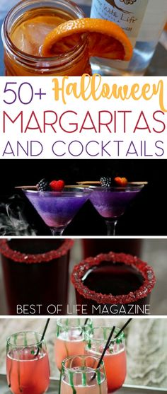Halloween margarita drinks are brewing with flavor and fun for the holiday! If margaritas are not your thing then enjoy a Halloween cocktail recipe! Either way, we know you are just here for the 'boos'. Halloween Cocktails, Halloween Food For Party, Fun Cocktails, Halloween Ideas, Halloween Stuff, Halloween Food For Adults, Halloween Dinner, Cheap Halloween, Holiday Drinks