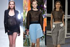 tendenze moda primavera estate 2014 fashion trend RETE E TRASPARENZE