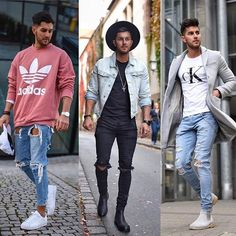 1 2 or 3? Style by @_donthiago_ Follow @mensfashion_guide for dope fashion posts! #mensguides #mensfashion_guide