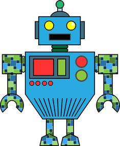 107 Best Robot Clipart Images On Pinterest